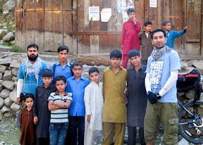 Local kids of village Seegam