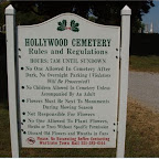 Hollywood Cemetery,  Rules