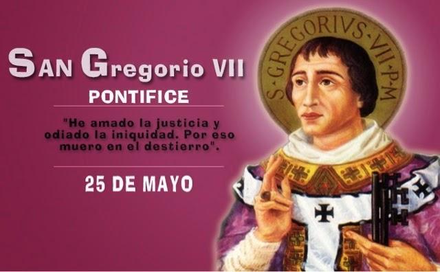 Resultado de imagen de san gregorio vii