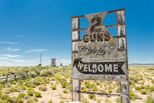 Route 66 Two Guns Abandoned Theme Park Arizona