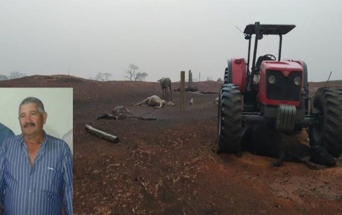 FOGO EM ARACANGUÁ: Vítimas de incêndio em fazenda começam a ser sepultadas na região
