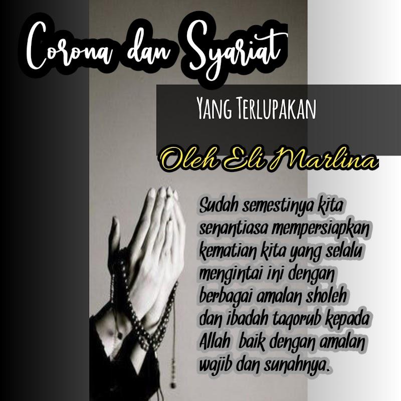 Corona dan Syariat yang Terlupakan