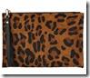 Whistles Leopard Print Wristlet Purse