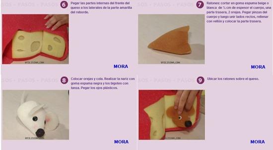 gorro queso con ratones (4)