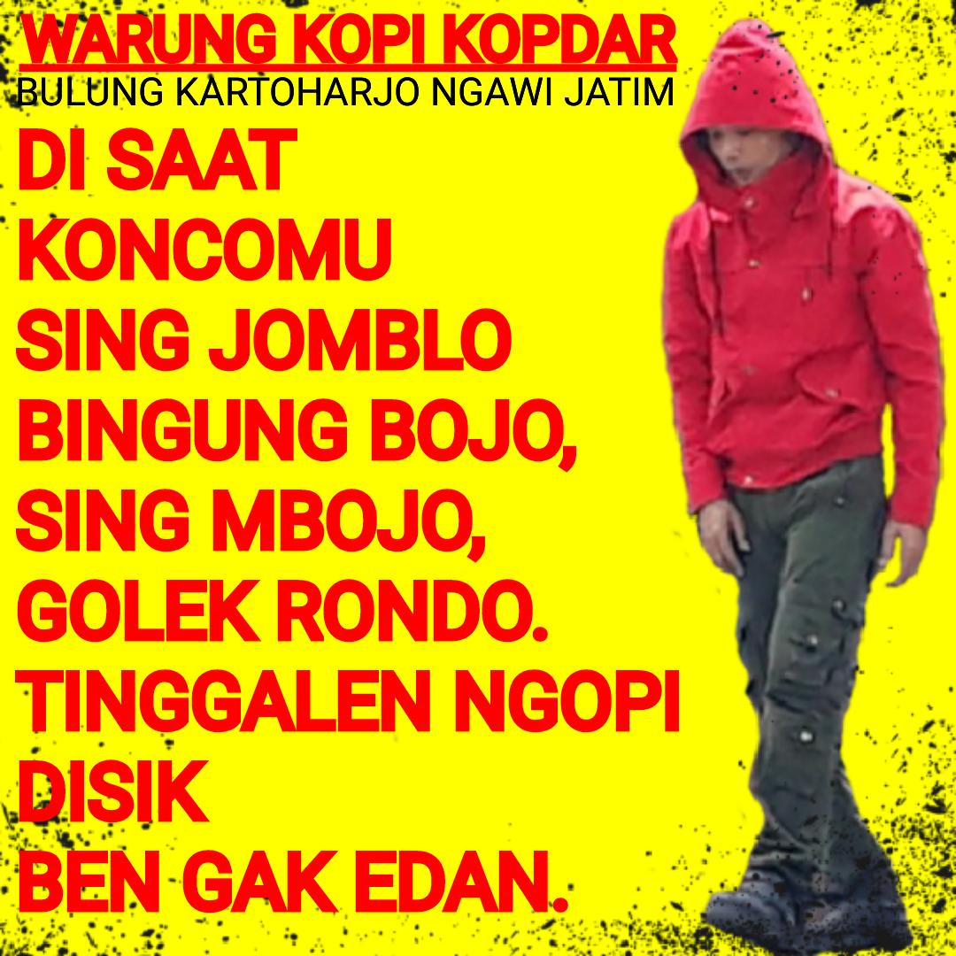 Gambar Dan Kata Kata Lucu Bahasa Jawa Timur Stok Gambar Lucu