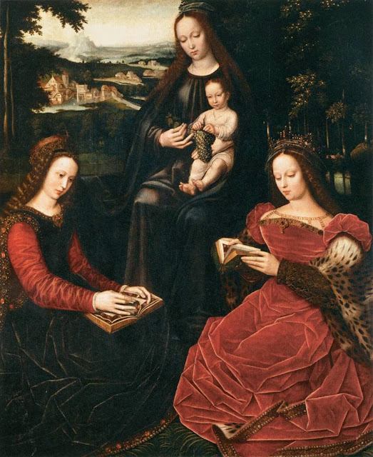 Ambrosius Benson - Virgin and Child with Saints