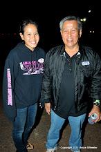 Photo: Cami Ichiki with her dad, Nolan...