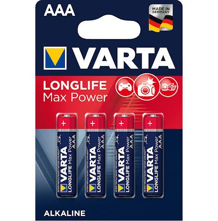 VARTA LONGLIFE Max Power AAA/LR03 4-PACK