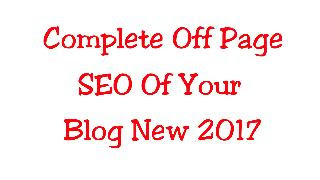 Complete Off Page SEO Tips