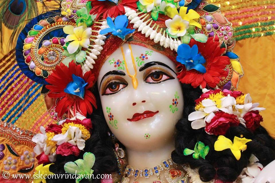 ISKCON Vrindavan Shringar Deity Darshan 11 May  2016 (17)