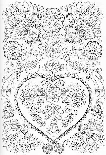 Scandinavian Coloring Book Pg