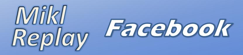 Mikl Replay : Facebook