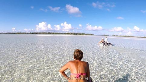 A zonzo per la laguna - Rangiroa