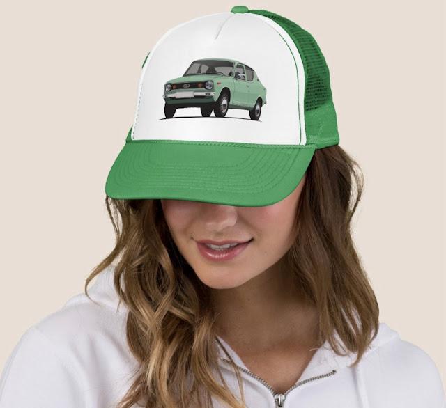 Datsun 100A lippis