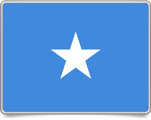 Somali framed flag icons with box shadow