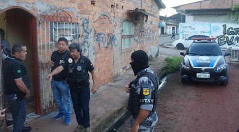 Polícias Civil e Militar deflagram operação para desarticular facção responsável por mortes ligadas ao tráfico de drogas em Ananindeua