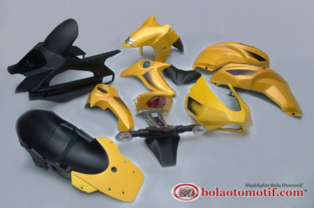 body custom full set byson yellow