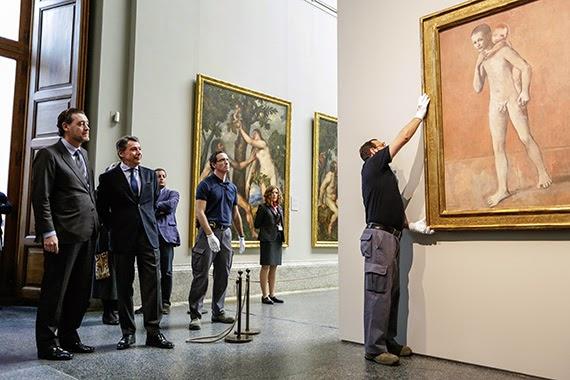 Exposición '10 Picassos del Kunstmuseum Basel' en el Museo del Prado