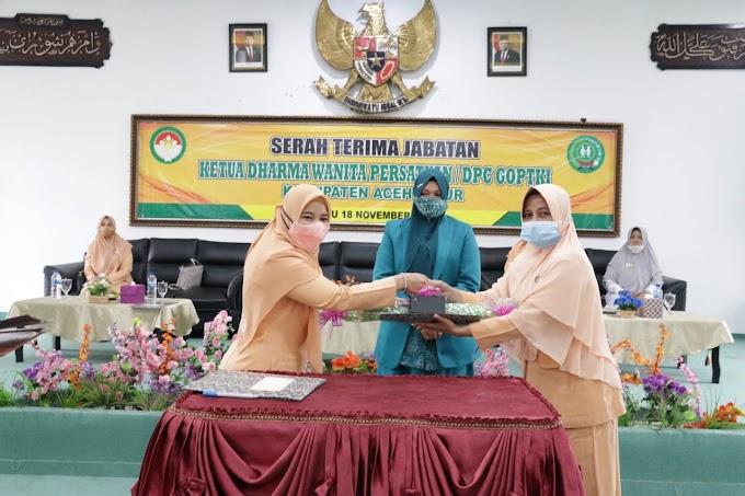 Ny. dr. Maizarniwati  Mahyuddin Jabat Ketua ( DWP) kabupaten Aceh Timur