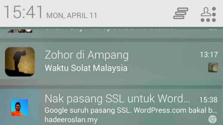 Web Push Notification OneSignal Sample Mobile Push