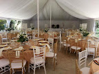 Marquee Tent Reception with Tiffany Chairs