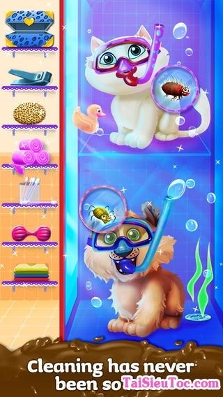 chăm sóc thú cưng trong game iphone