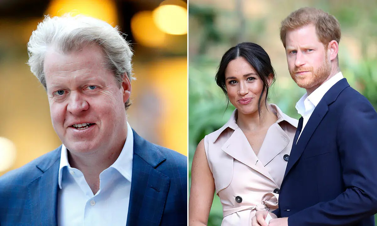 Charles Spencer Quizzed about Prince Harry and Meghan Markle's Baby Daughter's Name