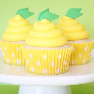 Lemon Pudding Cupcakes