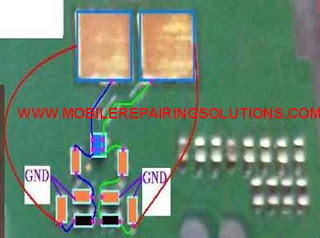 Nokia 1616 Ringer Ways Problem and IC jumper solutions