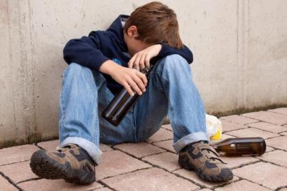 binge drinking kids