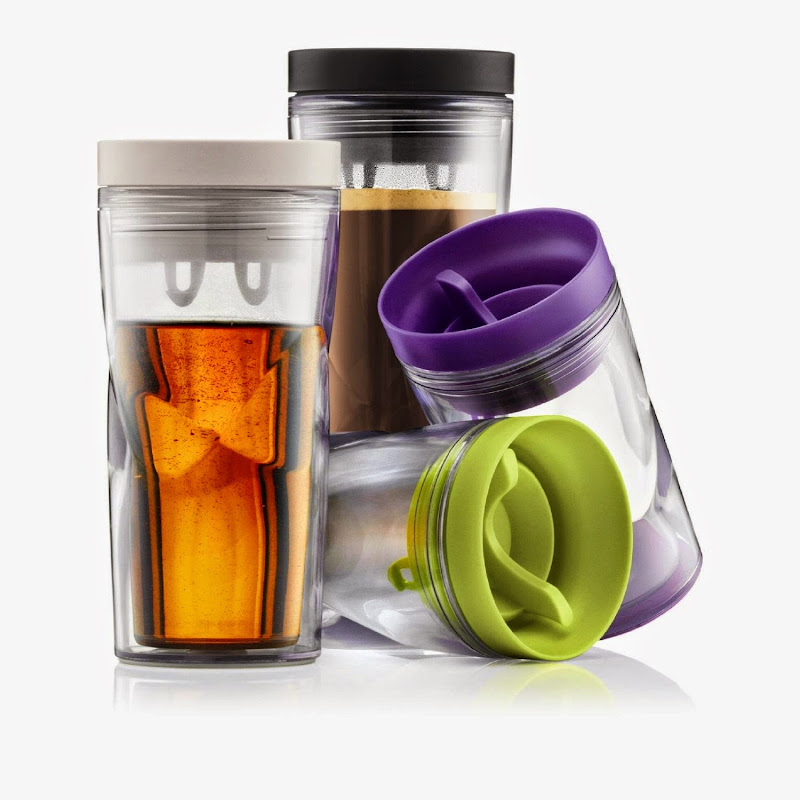 BODUM Anywhere 8 oz Spill Proof Travel Mug