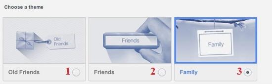 Hình 3 - Cách tạo video cảm ơn bạn trên Facebook