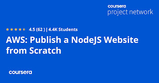 Best AWS And NodeJS coursera Project