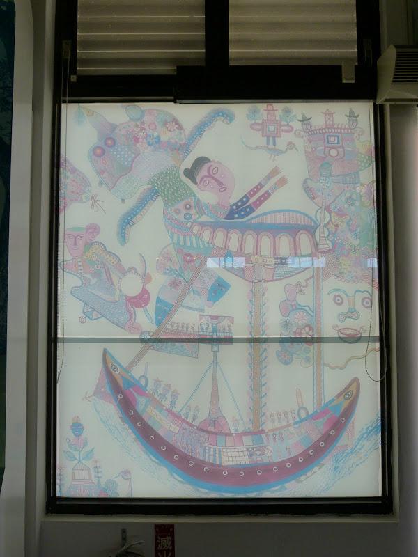 Hong Tong, peintre local
