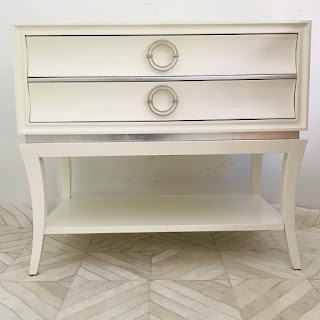 Lacquered Two-Drawer Chest