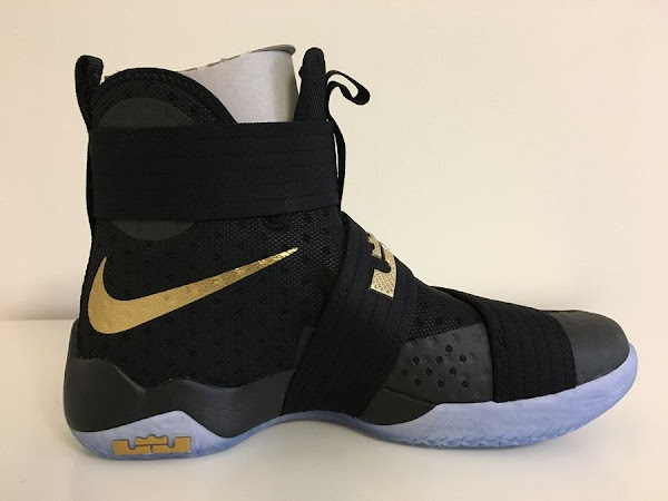 Detailed Look at LeBron Soldier 10 Game 5 Forty Ones Thats Gone Now