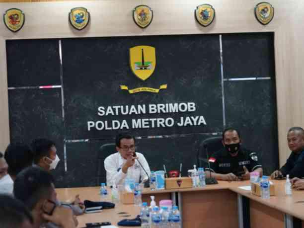 Satbrimob Polda Metro Jaya Gandeng SMSI Gelar Pelatihan Jurnalistik