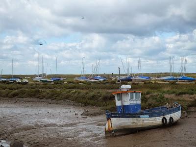 Brancaster Staithe fishing boat