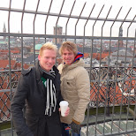 on the rundtower in Copenhagen, Copenhagen, Denmark