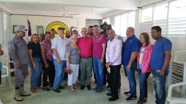 Llegan acuerdo de paz candidato PLD y PRM de Sanchez tras incidente entre seguidores de ambos.