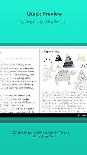JotterPad - Writer, Screenplay, Novel 12.10.3-pi Screenshots 3