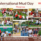 International Mud Day Celebration by Playgroup and Jr.Kg Section (2018-19)Witty World, Goregaon(E)