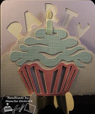 Cupcake 1 3dsvg