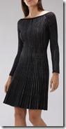 Coast Lurex Knit Dress