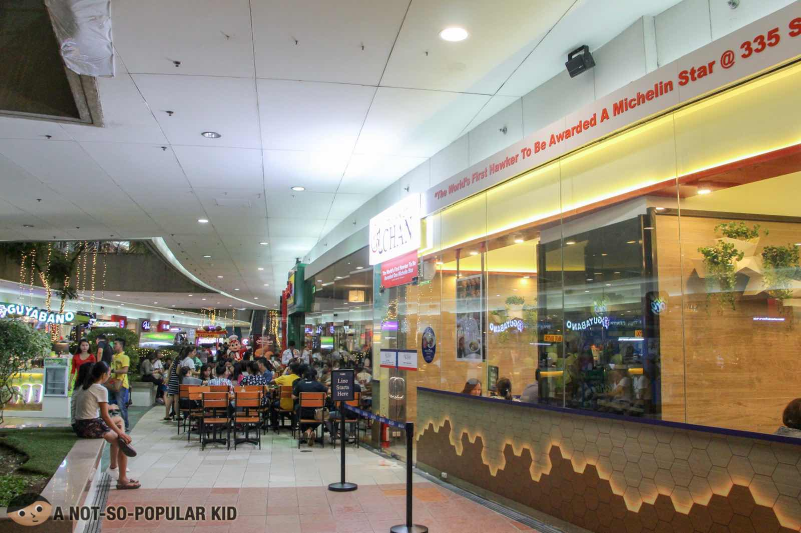 Hawker Chan in Mall of Asia, Philippines