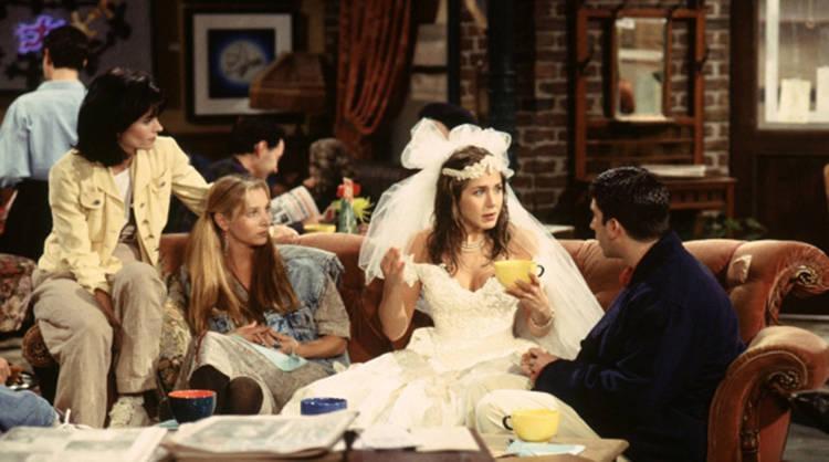 Rachel apareció de esta guisa en el primer episodio de