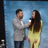 OIC - ENTSIMAGES.COM - Damien Zannetou and Zeena Xena - Blogging Gals Founder at the Anesis  TV launch party at Clapham Common London 20th June 2915 Photo Mobis Photos/OIC 0203 174 1069