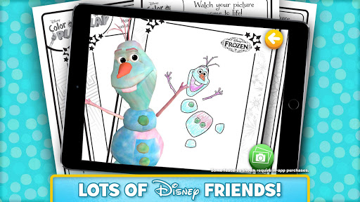 (APK) تحميل لالروبوت / PC Disney Color and Play تطبيقات screenshot