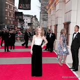 WWW.ENTSIMAGES.COM -   Lily James    at      The Olivier Awards at Royal Opera House, Covent Garden, London, April 28th 2013                                               Photo Mobis Photos/OIC 0203 174 1069
