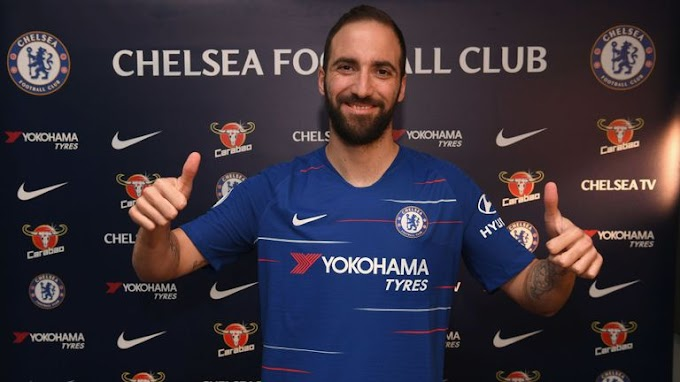 PREMIER LEAGUE! See What Hazard Is Saying About Higuain's Arrival At Chelsea
